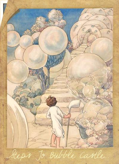 Steps-To-Bubble-Castle