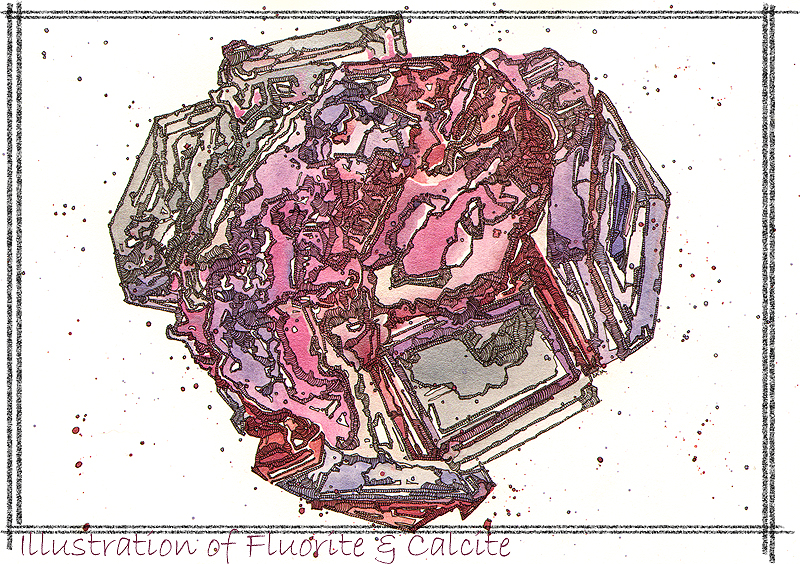 Fluorite-and-Calcite-post